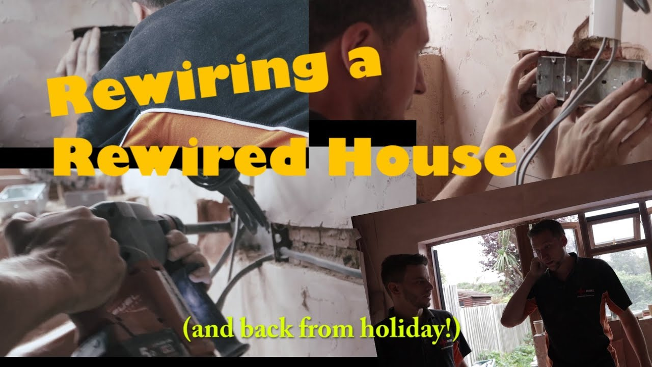 rewiring a just rewired house oh dear oh dear [ 1280 x 720 Pixel ]