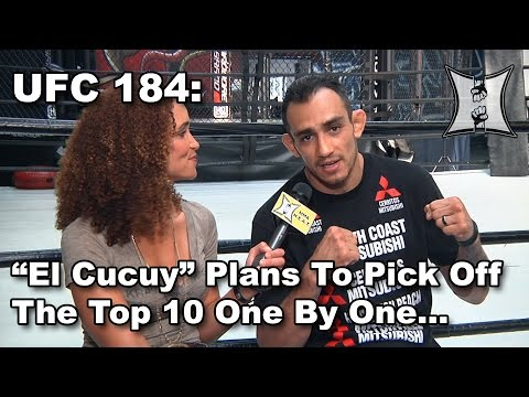 UFC 184's Tony Ferguson Trains At 10th Planet HQ, Plans To Pick Off Top 10 Lightweights 1 By 1