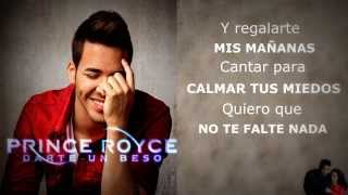 Prince Royce - Darte un beso  letra