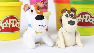 DIY - Jak wykonać Maxa z Ciastoliny? - Play-Doh & Sekretne Życie Zwierzaków - Tutorial
