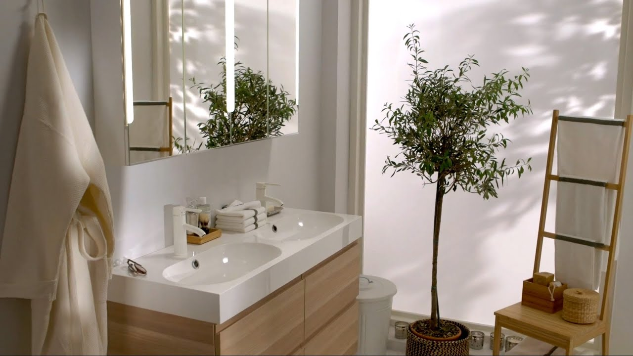Ikea Find Inner Calm In A Blissful Bathroom Youtube