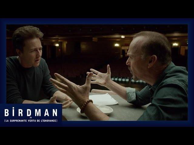 Birdman - Extrait Est-ce qu'elle parle ? [Officiel] VF HD