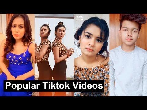 Popular Videos Of Musically Tiktok India | Neha Kakkar, Jannat, Aashika, Avneet, Riyaz