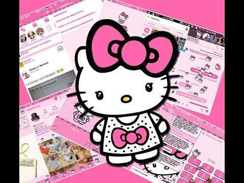 My complet Set of Candy Hello Kitty Big Bow for Android
