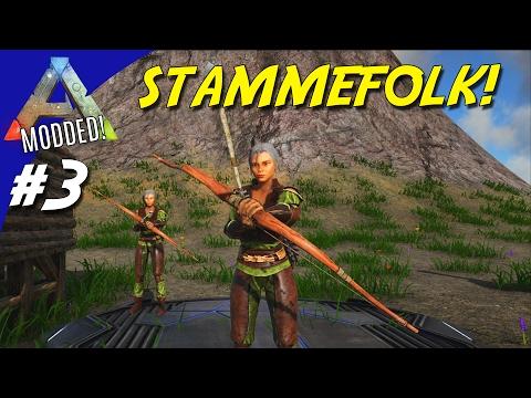 STAMMEFOLK! - ARK Survival Evolved Dansk Modded - Ep 3 (Extinction Core)