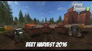 Farming Simulator 2017 ¦ Sugarbeet Harvest ¦ Goldcrest Valley