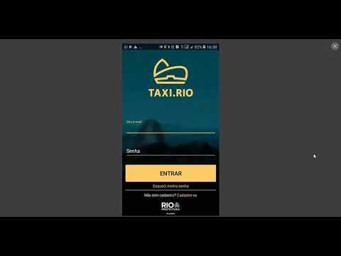 Como Cadastra App Taxi Rio Passageiro