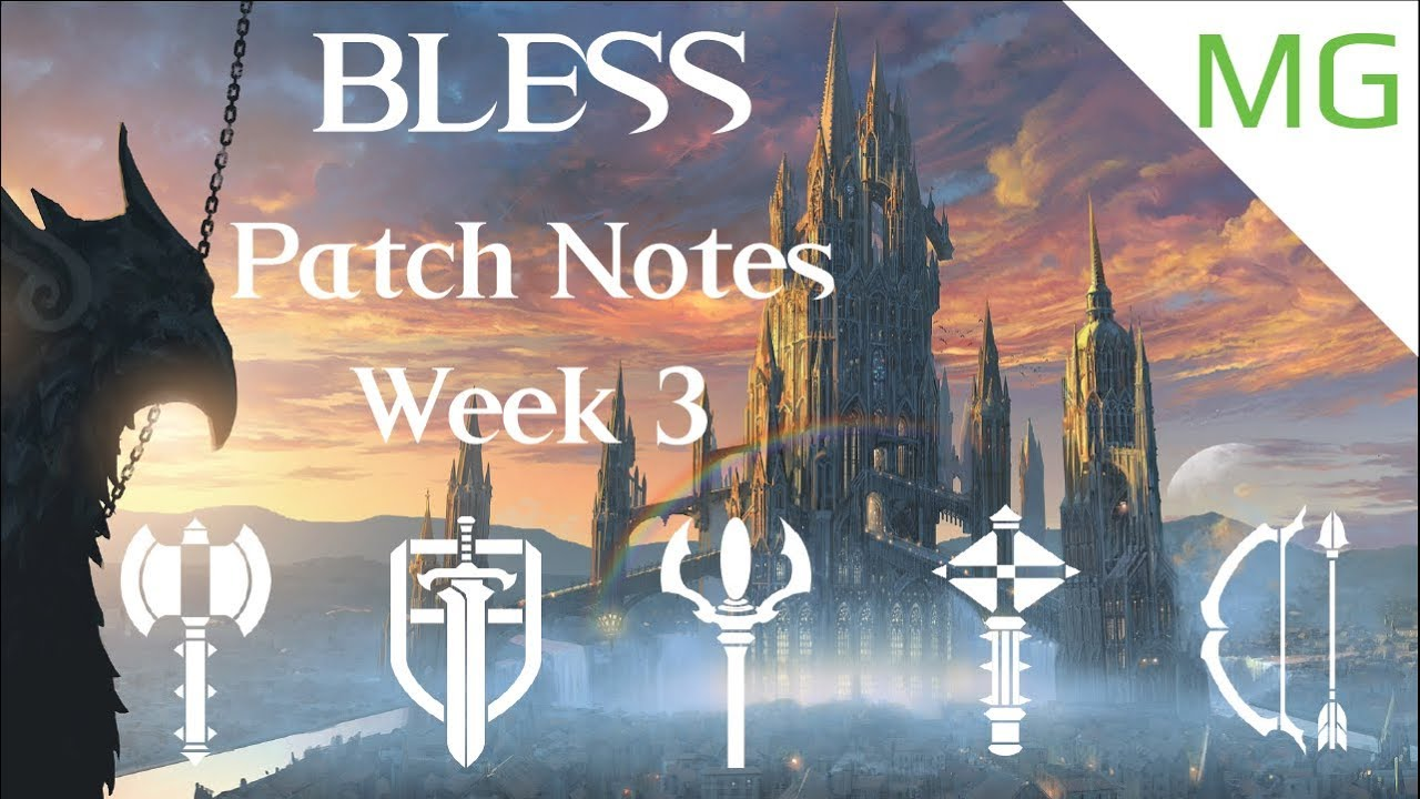 Bless Online   Week 3 Patch Notes - YouTube