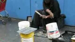 NewYork street drummer