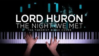 Baixar Lord Huron - The Night We Met | The Theorist Piano Cover
