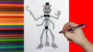 How to draw  Creation, FNaF, Как нарисовать Создание, ФНаФ