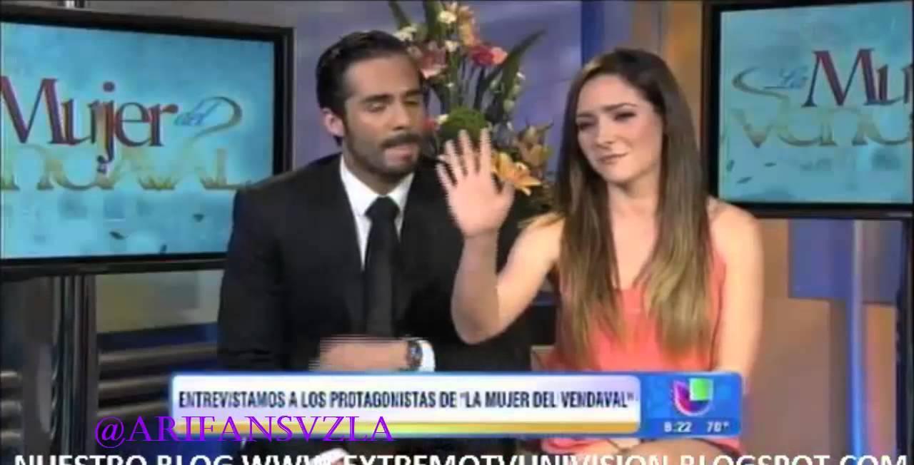 Entrevista Ariadne Díaz y José Ron en Despierta América ...