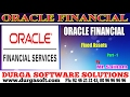 Oracle Financial||online training||Fixed Assets Part-1 by SaiRam