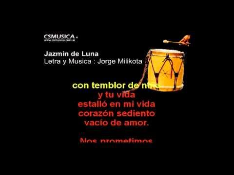 Folklore   Jazmin De Luna   Karaoke