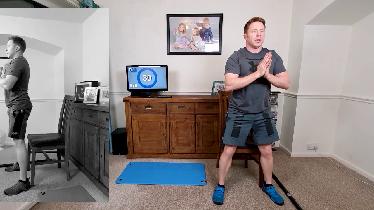 VIDEO 2 PHASE 1 HOME TRAINING (BEGINNERS) BODYWEIGHT EXERCISES