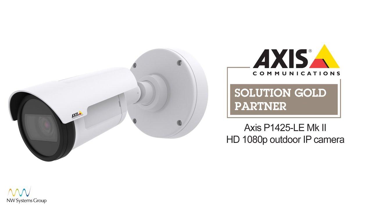 Axis P1425-LE Mk II outdoor HD 1080p bullet IP camera