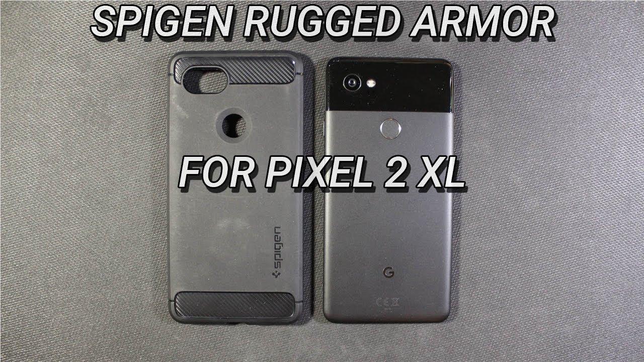 huge discount 62f7f 0928b Pixel 2 XL Spigen Rugged Armor