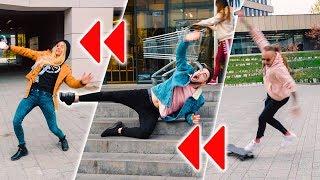 OD TYŁU CHALLENGE z FIT LOVERS! *spadłem ze schodów!*