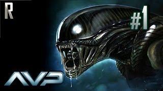 ◄ Aliens vs Predator - Alien Walkthrough HD - Part 1