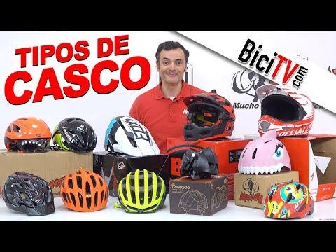 Qué tipos de casco hay para bicicleta
