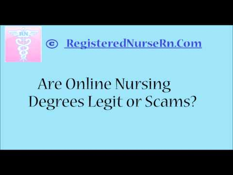 Are Online Nursing Degrees Legit, or Scams?