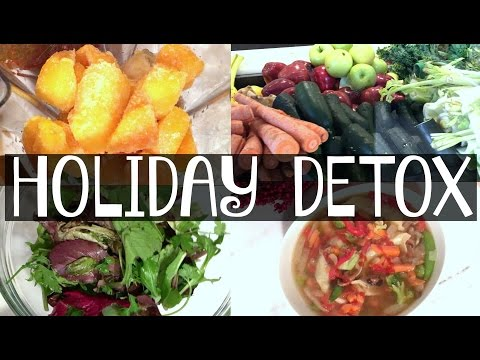 Holiday Detox Diet – What I Ate Today