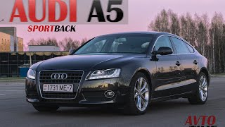 Обзор Audi A5 Sportback (Новый формат)(Мы в соц. сетях https://www.facebook.com/groups/193646424139780/ https://www.youtube.com/c/AvtoTime https://vk.com/avtotime_group., 2016-03-10T17:46:09.000Z)