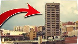 ✔ Visitando EDIFICIO ABANDONADO de 14 PISOS ! - Exploracion Urbana Lugares Abandonados en España