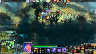 Dota 2: Пексик играет за Антимага (Магина, Anti mage), бой 2 из 2 loss