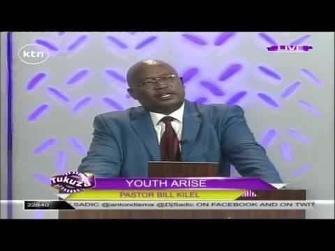 Youth Arise: Pastor Bill Kilel delivers a sermon on KTN Tukuza Show