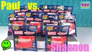 paul vs shannon marvel wikkeez edition fan mail fun blind bag opening   pstoyreviews