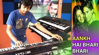 Aankh Hai Bhari Bhari   Tum Se Achcha Kaun Hai   Cover   Instrumental Music