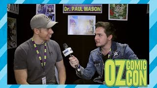 Paul Mason Interview Oz Comic Con