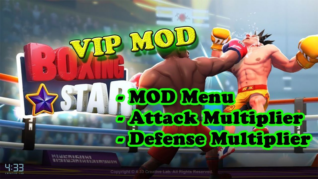 boxing star mod apk unlimited gold