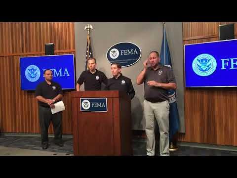 FEMA Hurricane Harvey Update 8-31-2017