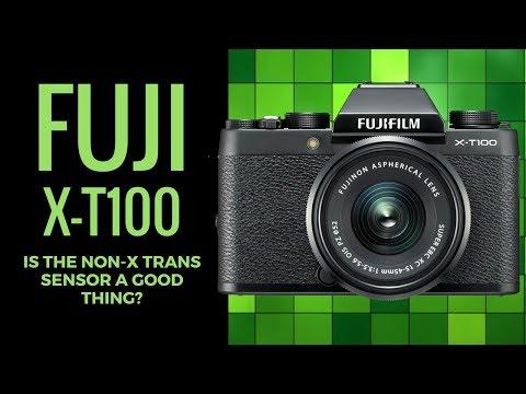 Fuji X-T100 - Is the NON - X Trans Sensor a POSITIVE Thing?