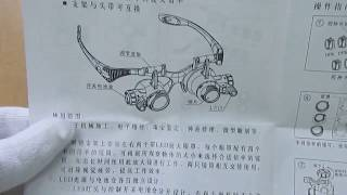 Очки Watch Repair Magnifier (upgraded version).