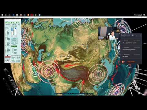 2/23/2017 -- Nightly Earthquake Update + Forecast -- Major seismic unrest spreading -- Have a plan