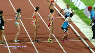 India Beats Vietnam  and Wins WOMEN\'S  4X400m RELAY  FINAL. 22nd ASIAN ATHLETICS CHAMPIONSHIPS-2017