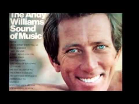 ANDY WILLIAMS  YESTERDAY WHEN I WAS YOUNG