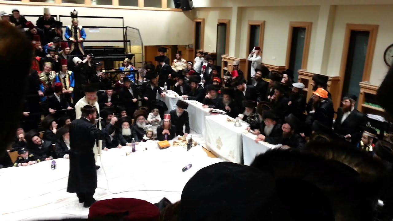 Erlau Purim Tish 5774 - פורים טיש ערלוי תשע''ד 3