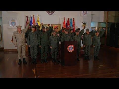Dura respuesta de la fuerzas militares venezolanas al discurso de Trump
