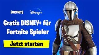 Fortnite: Disney Plus GRATIS bekommen und Code einlösen (Tutorial)