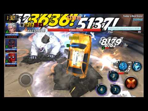 Quicksilver - Extreme Alliance Battle - 345,878 points.