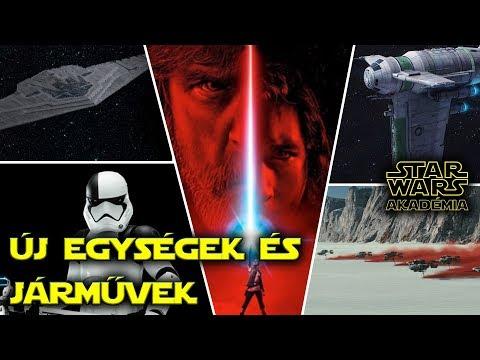 Star Wars 8 : Az utolsó Jedik - Új járművek és eddig megismert egységek | Star Wars Akadémia
