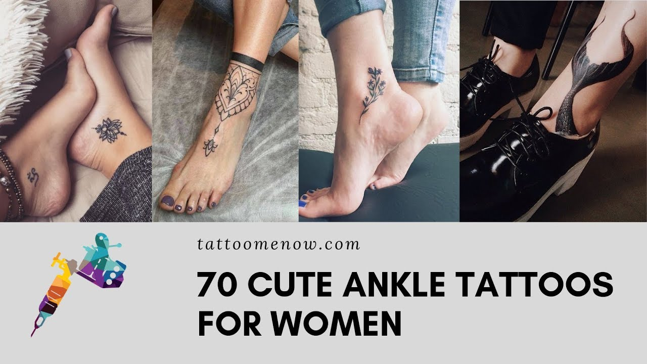70 Cute Ankle Tattoos For Women Youtube