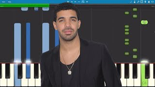 Video Drake - Nice For What - EASY Piano Tutorial download MP3, 3GP, MP4, WEBM, AVI, FLV Juni 2018