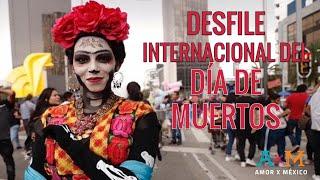 """🇲🇽 INCREÍBLE desfile de Catrinas 💀 en Ciudad de México por """"El día Muertos"""""""