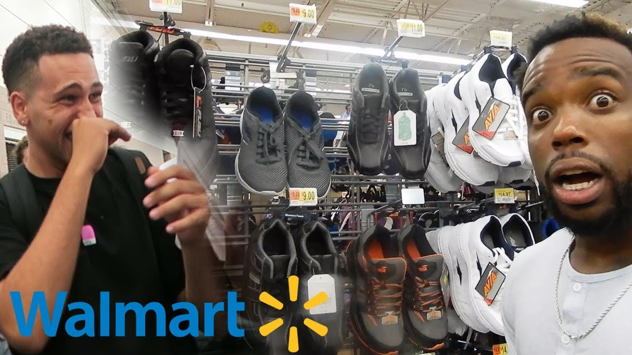 d75afce772d4f WEARING WAL-MART SHOES TO SNEAKERCON