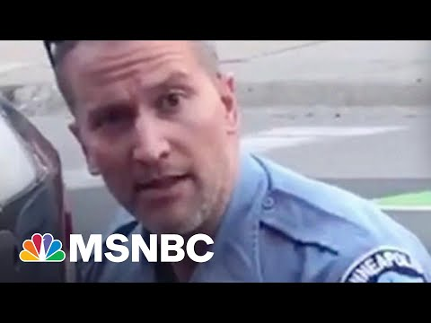 Chauvin's Violent Track Record As A Police Officer Long Preceded Killing George Floyd   MSNBC